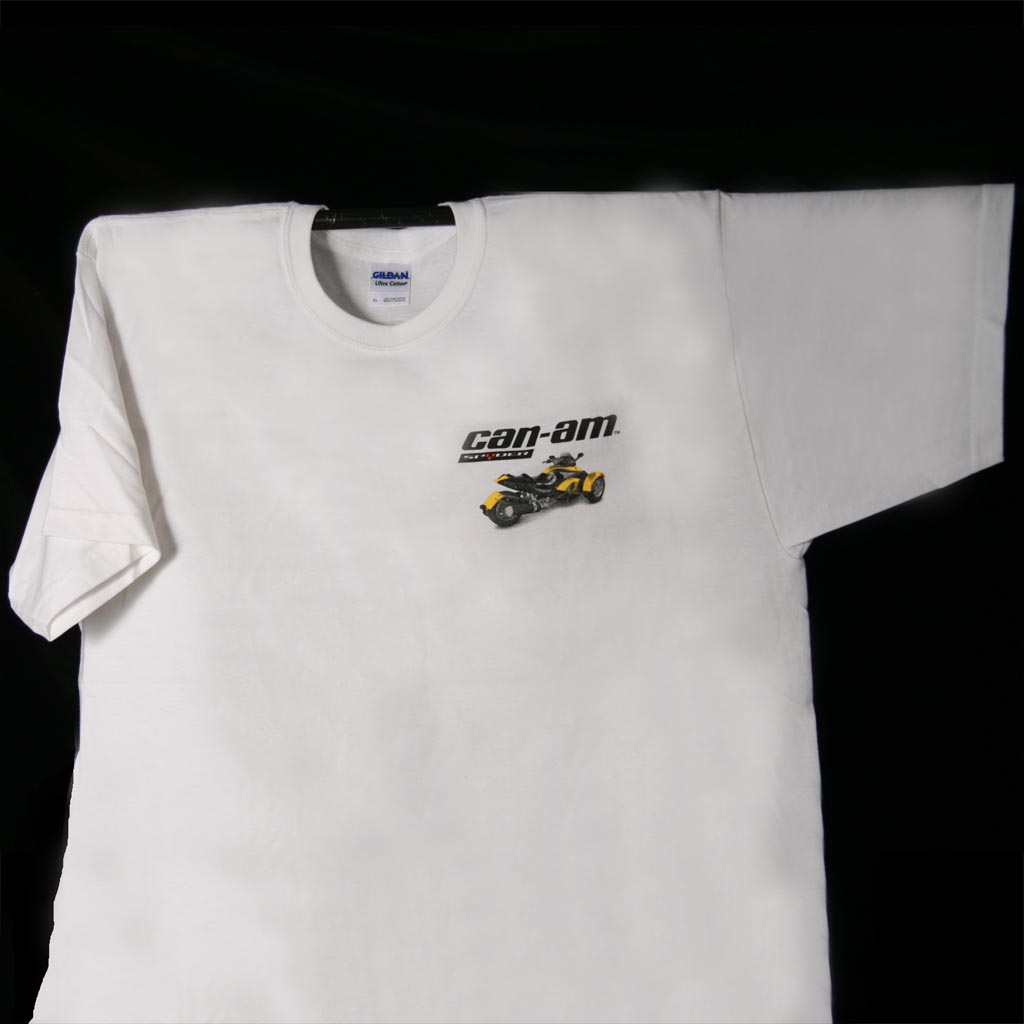 Can am professional sportswear inc for Where can i get a shirt screen printed